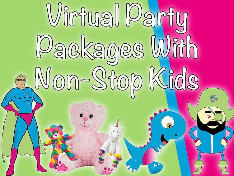 Virtual Party Packages With Non-Stop Kid