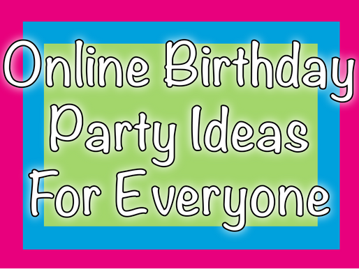 Online Birthday Party Ideas For Everyone | Virtual Party Entertainment With NSK