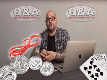 The BEST Place To Start Performing Magic? | Magic Q&A With Craig Petty