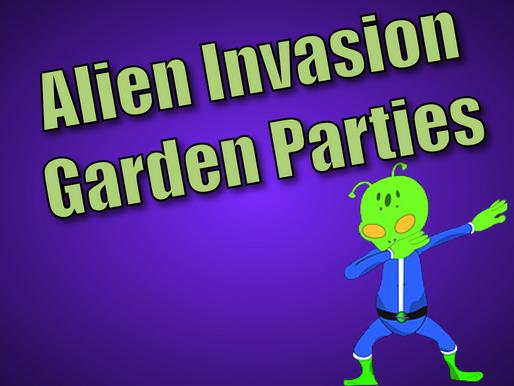 Alien Invasion Garden Parties | Garden Party Entertainment With Non-Stop Kids 2021