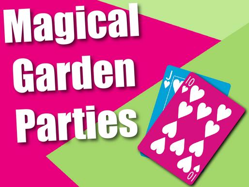 Magical Garden Parties | Garden Party Entertainment 2021
