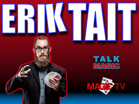 Erik Tait | Comedian, Magician, Sleight Of Hand Expert and The Best Beard In Magic!