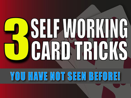 3 Self Working Card Tricks You Haven't Seen Before | Magic Stuff With Craig Petty