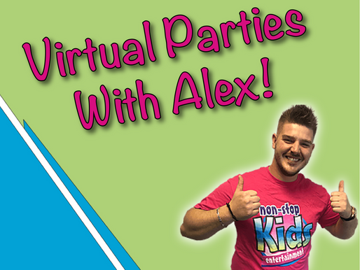 The Hassle Free Experience Of Virtual Party | Virtual Parties With Alex
