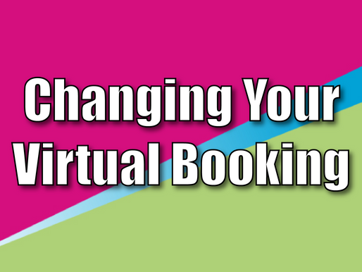 Changing Your Virtual Booking | Children's Entertainment With Non-Stop Kids 2021