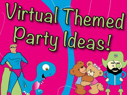 Virtual Themed Party Ideas | Non-Stop Kids Entertainment Virtual Parties 2020
