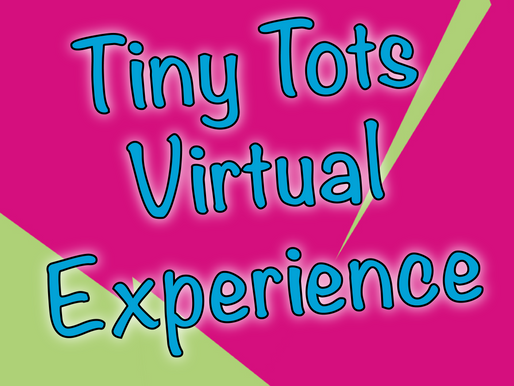 Tiny Tots Virtual Experience | Entertaining Younger Kids With Virtual Parties