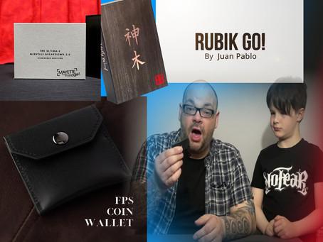 Holy Wood, Nervous Breakdown 2.0, FPS Coin Wallet & Rubik Go | Craig & Rylands Magic Review Show