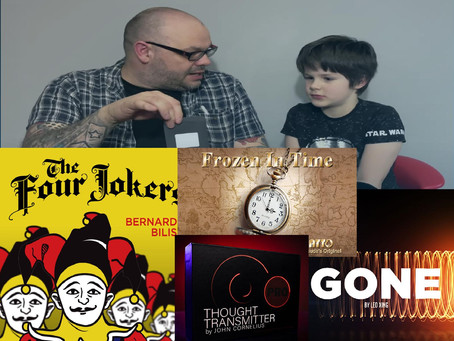 Thought Transmitter, Gone, 4 Jokers and Frozen In Time | Craig & Rylands Magic Review Show