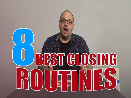 The 8 Best Closing Routines For A Close Up Performance | Magic Stuff With Craig Petty