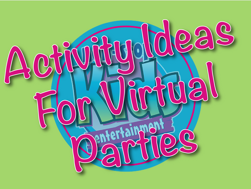 Activity Ideas For Virtual Parties | Virtual Birthday Party 2021
