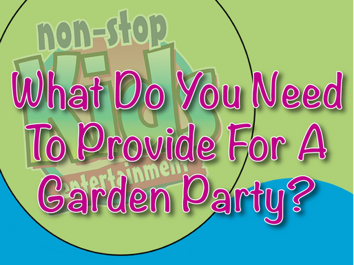 What Do You Need To Provide For A Garden Party? | Garden Parties With NSK 2021