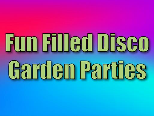 Fun Filled Disco Garden Parties | Garden Party Entertainment 2021