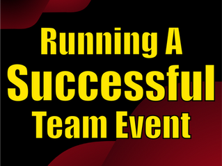 Running A Successful Team Event | Corporate Entertainment With Slightly Unusual 2021