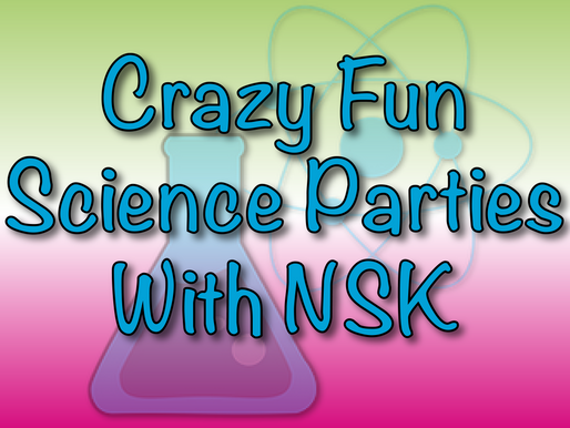 Crazy Fun Science Parties With NSK | Virtual Parties 2020