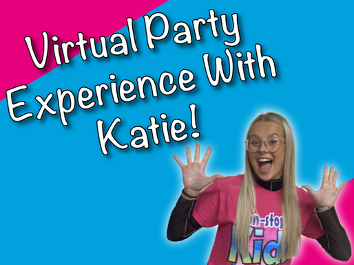 The Joys Of Partaking In A Virtual Party | Virtual Party Experience With Katie!