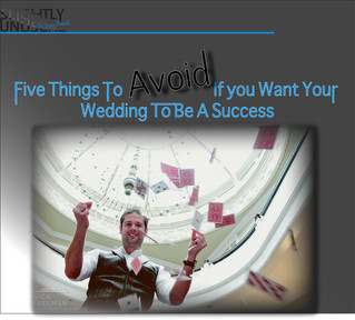 Five Things To Avoid If you Want Your Wedding To Be A Success