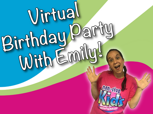 Top Benefits Of A Virtual Party From An Entertainers Perspective | Virtual Birthday Party With Emily