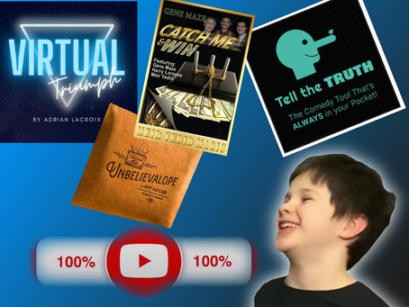 Magic Review Show   Virtual Triumph, Catch Me & Win, The Unbelievalope 2.0 And More!