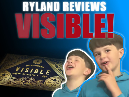 Reviewing VISIBLE & 4 Other Magic Tricks | Craig & Ryland's Magic Review Show