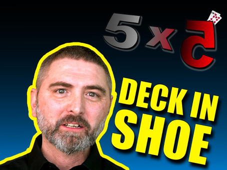 Magic 5x5 With Craig Petty | Live Wedding Performance, Deck In Shoe Review, Joe Rindfleisch