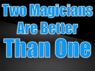 Two Magicians Are Better Than One | Close Up Magicians 2021