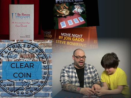 Clear Coin, Perfect Cut, By Forces Unseen, Movie Night | Craig & Rylands Magic Review Show