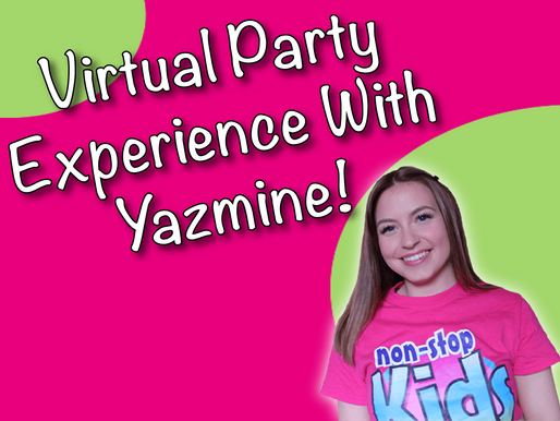 Around The World Virtual Party Guests | Virtual Party Experience With Yazmine!