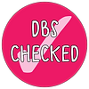 DBS checked Badge Design