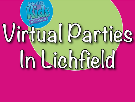 Virtual Parties In Lichfield | Virtual Party With Non-Stop Kids 2021