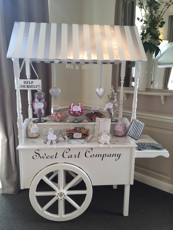 sweet carriage used for a sweet company