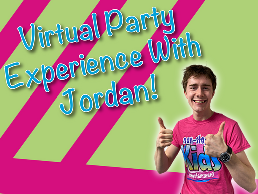 The Great Advantages Of A Virtual Birthday Party | Virtual Party Experience With Jordan