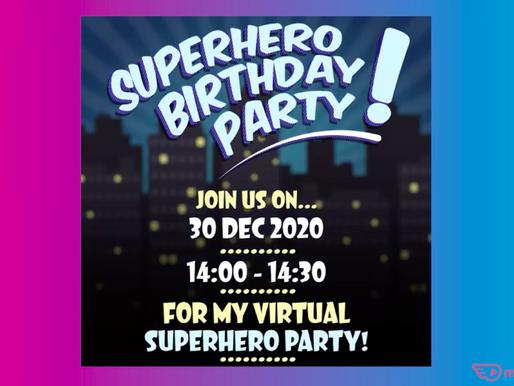 Custom Virtual Invitations | Virtual Party With NSK 2021 - Vlog