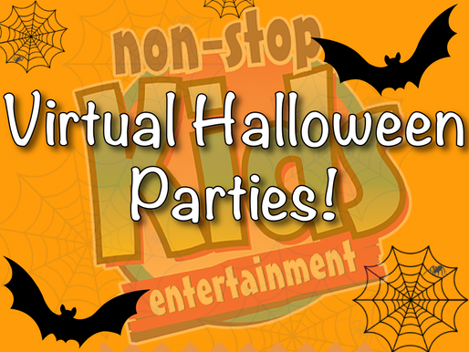 Virtual Halloween Parties With NSK | Children's Virtual Entertainment!