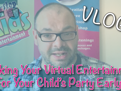 The Importance Of Booking Your Virtual Entertainment For Your Child's Party Early! - Vlog