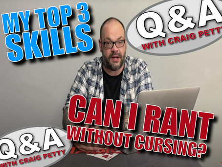 Can I Rant Without Cursing? | Magic Q&A With Craig Petty