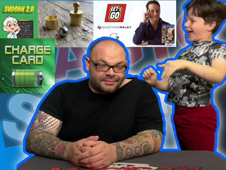 Charge Card, Stamp, Sudoku 2.0 and Let's Go | Craig & Ryland's Magic Review Show