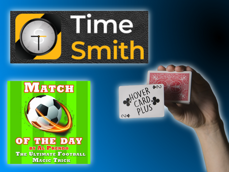 Magic Review Show |  Time Smith, Match Of The Day, Hover Card Plus, RD Insta Cube