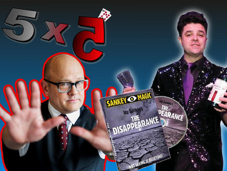 Sharpie Through Card, Live Coin Performance & Nick Locopo Sneak Peek | Magic 5x5 With Craig Petty