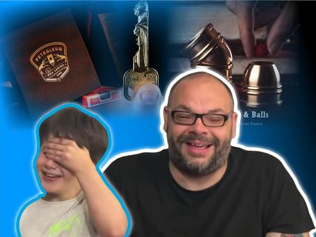 Surprise Change, Mini Cups & Balls, Petroleum & CelebriKey | Craig & Ryland's Magic Review Show