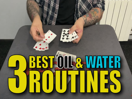 The 3 Best Oil & Water Routines You Have Never Seen Before   Magic Stuff With Craig Petty