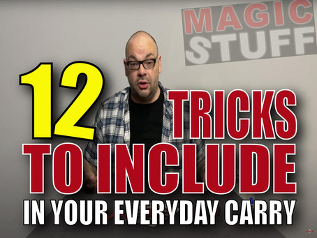 12 Awesome Tricks To Include In Your Everyday Carry | Magic Stuff With Craig Petty