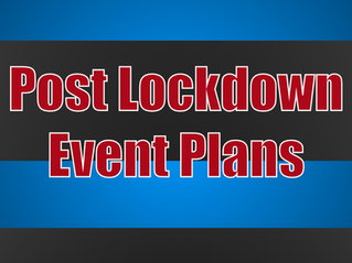 Post Lockdown Event Plans | Corporate Entertainment With Slightly Unusual 2021