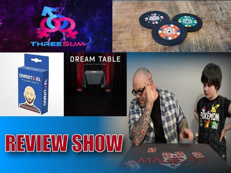 Dream Table, Rinbo Monte, Omni Tool & ThreeSum | Craig & Ryland's Magic Review Show