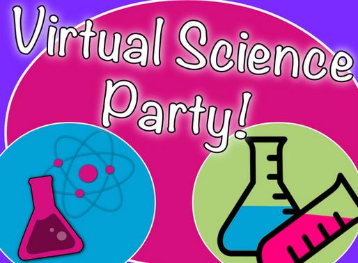 Virtual Science Party | Virtual Party Entertainment 2020!