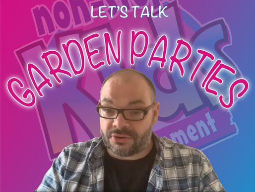 Garden Party Entertainment For A Kid's Party - Vlog