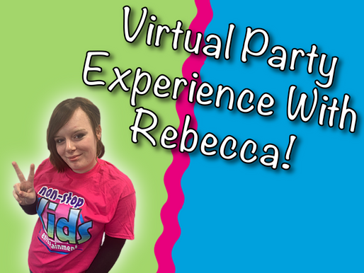 Why We Love Performing Virtual Parties | Virtual Party Experience With Rebecca