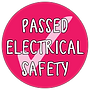 Passed Electrical Safety Badge Design