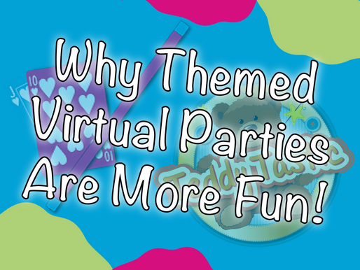 Why Themed Virtual Parties Are More Fun! | Online Birthday Party 2020