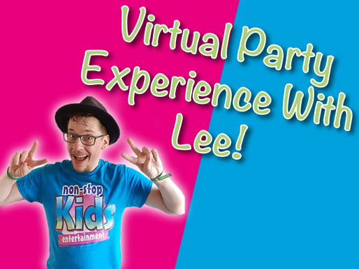 Amazing Virtual Party Experience With Lee | Virtual Parties With Non-Stop Kids 2021
